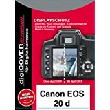 DigiCover N437 Protection d'écran Premium pour Canon EOS 20D