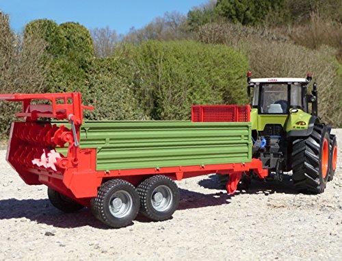RC Auto kaufen Traktor Bild 4: RC Traktor CLAAS Axion 870 Anhänger in XL Länge 78cm