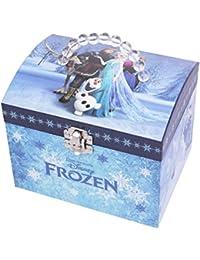 """Trousselier Spieluhr 90431 - Disney-Motiv """"""""Frozen - Die Eiskönigin"""""""" Spieluhr XL mit Perlengriff (Spieldose, Musikdose, Schmuckschatulle, Schmuckkästchen)"""
