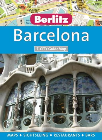 Barcelona Berlitz Guidemap (International City GuideMaps)