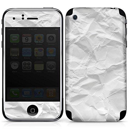 DeinDesign Apple iPhone 3Gs Folie Skin Sticker aus Vinyl-Folie Aufkleber Papier Blatt Leaf