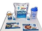Stoffwechselkur Komplett-Paket - 21 Tage HCG-Diät mit Anleitung und Rezeptbuch -Inklusive Kräuterkomplex, Vitaminkomplex, Omega 3 Kapseln, Proteinkomplex und einem Protein-Shaker (SOMMERFIGUR 2019)