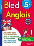 Cahier Bled - Anglais 5e - Nouveau pr...