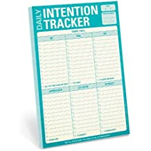 Knock Knock Daily Intention Tracker Pad (Knock Knock Pad)