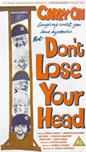 Carry On Don't Lose Your Head [VHS] [1967]