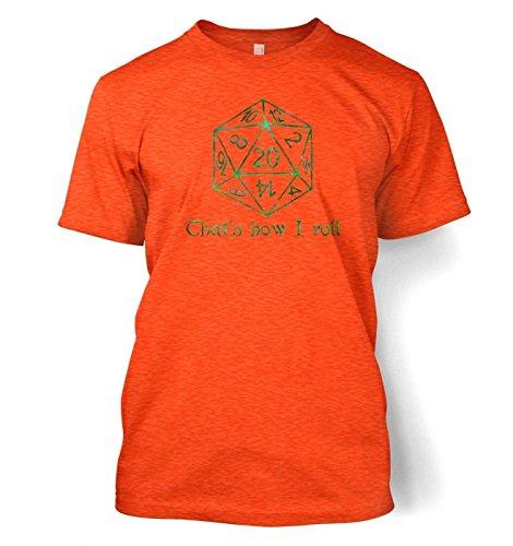 That's How I Roll Herren t-shirt Heather Orange