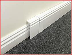 100mm UPVC Skirting Board Cover 2 x 2.5m