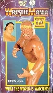 WWF: Wrestlemania 4 [VHS]