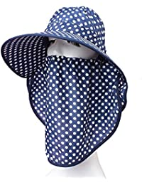 PLQ Aire Libre Anti Mosquito Mesh Cover Fisherman Beekeeping Mask Face  Protect Caps Dot Cara Llena… 95fc335a720