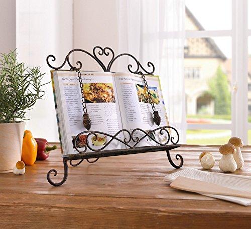 Frank Flechtwaren 224257 - Leggio per Libri da Cucina Haute Cuisine ...