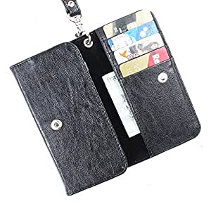 Dooda PU Leather Flip Pouch Case For Videocon Infinium Z40 Pro