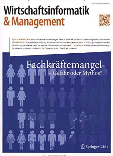 Wirtschaftsinformatik & Management [Abonnement jeweils 6 Ausgaben jedes Jahr]