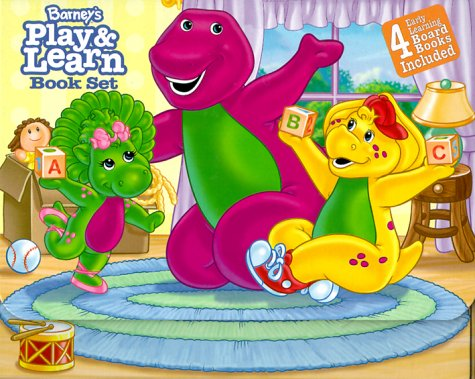 Barney's Play & Learn Book Set: Bedtime for Baby Bop, In, Out and All Around, Barney Plays Nose to Toes, Bj's Fun Week