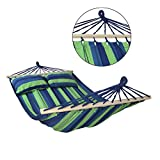 Amaca con supporto CIBAO con 2 cuscini inclusi dimensioni telo 240x140 cm disponibile in molti...