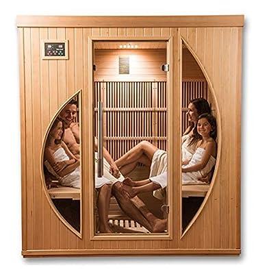 Sauna Infrarot Khaleesi–4sitzer von GW auf Du und dein Garten