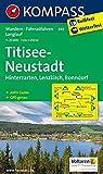 Titisee - Neustadt: Wanderkarte mit Aktiv Guide, Radwegen und Loipen - GPS-genau - 1:25000 (KOMPASS-Wanderkarten, Band 893) -