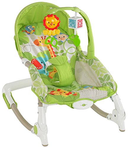 PoshTots UK Kids High Quality Imported Newborn-to-Toddler Portable Baby Rocker Musical Baby Rocking Chair With Vibration -Gift Toy  available at amazon for Rs.2699