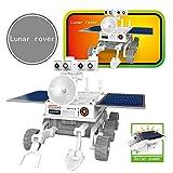Styledress RC Helikopter DIY 3 in1 pädagogisch T3 Solar Transforming Roboter Science Kit Drone Hubschrauber Spielzeug Ferngesteuert Kinder (31x6,5x20cm, Weiß)