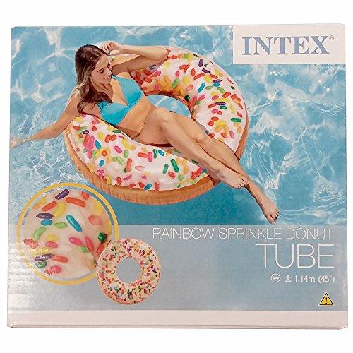Intex Donut XXL-Schwimmring bunt