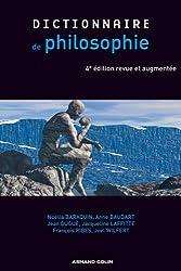 Dictionnaire de philosophie - 4e éd.