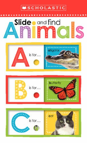 Slide and Find Animals                            ABC (Scholastic Early Learners) por Scholastic