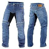 Trilobite Parado Dupont Kevlar Jeans // Motorradjeans // inkl. Protektoren - blau