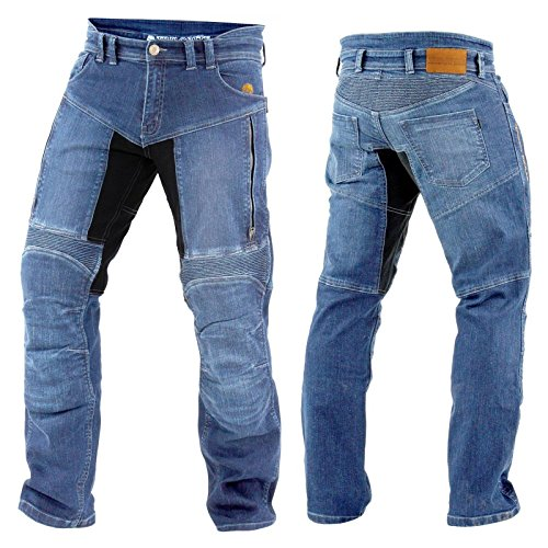 #Trilobite Herren Motorrad Jeans PARADO Hose, 3066104, Größe 32/48#