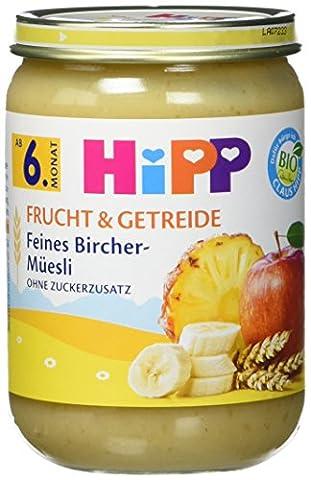 Hipp Feines Bircher-Müesli, 6er Pack (6 x 190