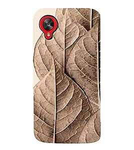 99Sublimation Brown Pattern 3D Hard Polycarbonate Back Case Cover for LG Nexus 5 :: LG Google