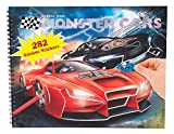 Depesche 6312 - Malbuch Stickerbuch Create Your Monster Cars