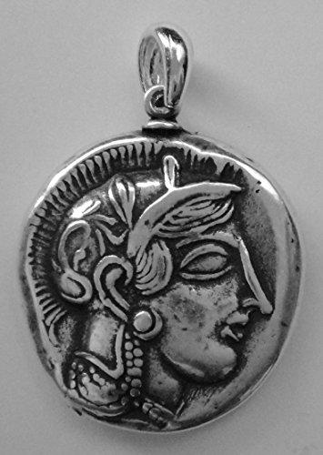 grec-dieux-et-deesses-collection-12pen-s-athena-hibou-pendentif