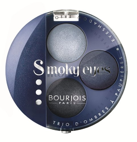 Smoky Shadow Eye (Bourjois Smoky Eyes Trio Bleu Jeans Nr. 11, 4,5g)