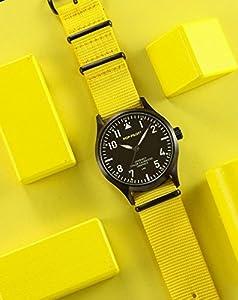 Pop-Pilot Unisex-reloj analógico de cuarzo LAX nylon P4260362631083 de Pop-Pilot