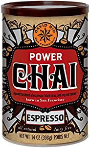 David Rio Power Chai with Espresso, 14 Ounce