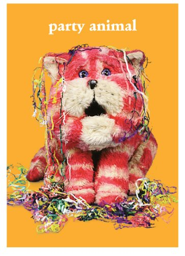 Bagpuss Party Animal Greetings Card.
