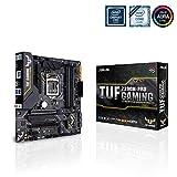 Asus TUF Z390M-PRO GAMING (WI-FI) Intel Z390 Micro ATX Scheda Madre da Gioco con OptiMem II, Supporto DDR4 a 4266+ MHz, 802.11ac WiFi, 32 Gbps M.2, USB 3.1 Gen 2 Nativo, Nero