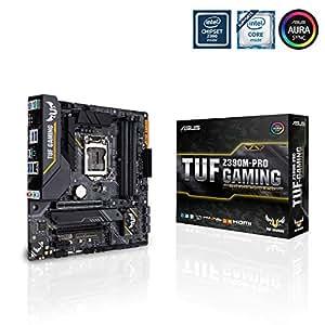 Asus TUF Z390M-Pro Gaming WI-FI Mainboard Sockel 1151 (mATX, Intel Z390, 4x DDR4-Speicher, USB 3.1)