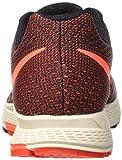 Nike Damen Air Zoom Pegasus 32 Laufschuhe, Mehrfarbig (Black/Hyper Orange/Bright Crimson), 40.5 EU -