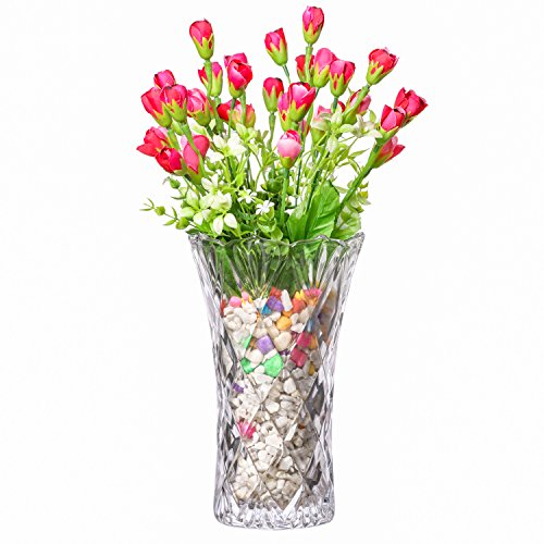 PRAX Crystal Touch Beautiful Decorative Designer Flower Vase