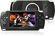 RFV1(tm)PSP Game console with 10000 Games, Music, Alarm, Calculator Camera, SD Card Slot And 1 Set Earphone,Black