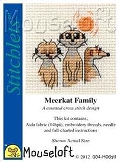 Pink Ice Cream Stitchlets Collection Mouseloft Mini Cross Stitch Kit