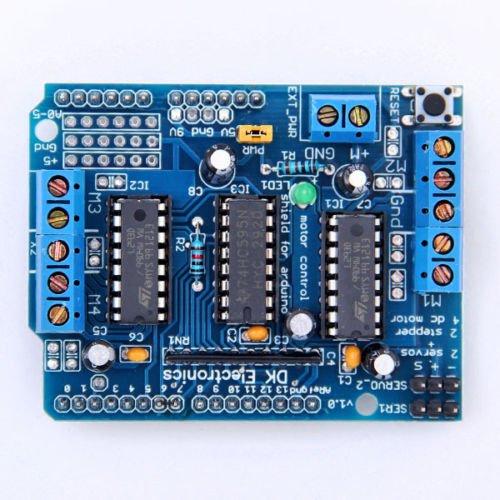 Neu L293D Motor Mega Shield Antriebs Schild Modul IC-Vorstand für Arduino Mega Erweiterungskarte