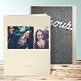 Fotobuch im vintage style, Fotobuch Duo 52 Seiten, 26 Blatt, Hardcover 234x296 mm personalisierbar, Braun