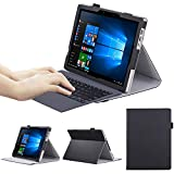 ASUS T303UA Case - VOVIPO Portfolio Premium PU Leather Stand Cover 12.6 inch Transformer 3 Pro Notebook Detachable 2-in-1 Laptop