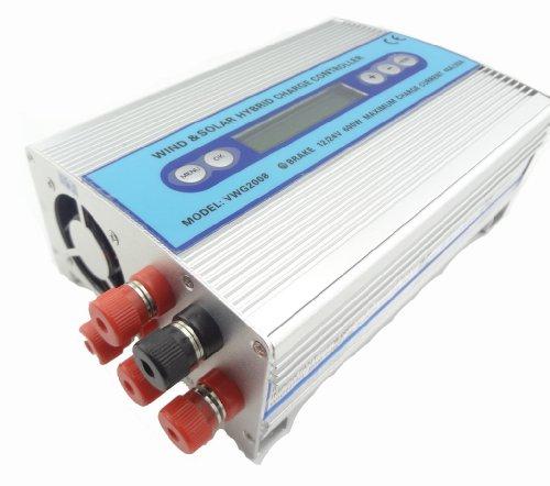 MISOL Hybrid Solar Wind Charge Controller 500W+100W / wind charge controller / wind regulator / solar regulator/wind turbine/Hybrid Solar Wind Laderegler / Windladeregler / Windregler / Solarregler / Windrad Charge Controller Regulator