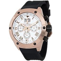 Herzog & Söhne men's watch XL Analogue Quartz Silicone HS313382