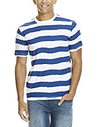 Bench Handpainted Stripe Tee, T-Shirt Homme