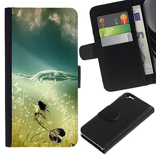 Graphic4You Niedlich Plastic Stars Design Brieftasche Leder Hülle Case Schutzhülle für Apple iPhone 6 / 6S Design #20