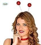 Guirca Fiestas GUI16626 - rotes Ball-Diadem (Frost)