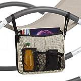 blumfeldt Brentwood Bag - Zubehör für den Brentwood Schaukelstuhl, Comfort Extra, Material: 70% PVC, 30% Polyester, 2 Klickverschlüsse